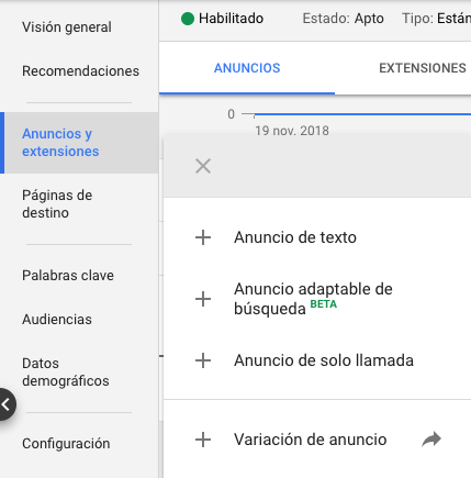 Google Ads anuncio adaptable